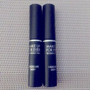 Make Up For Ever excessive lash mascara minis